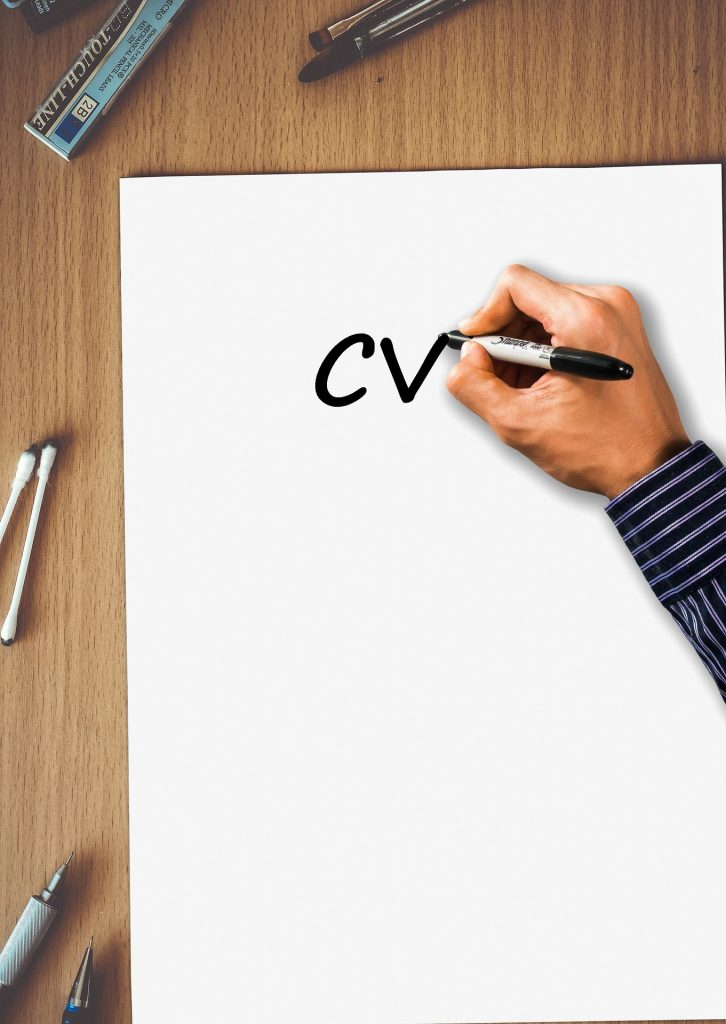 CV Writing Desing Web Designers