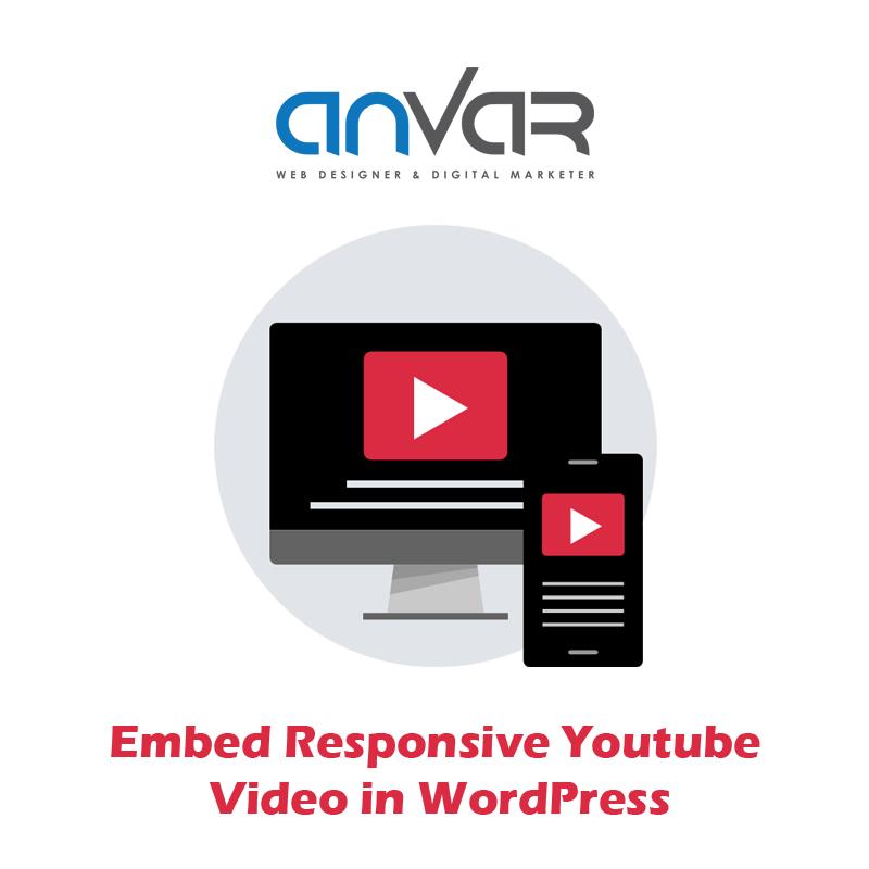 Responsive YouTube Video in WordPress Website